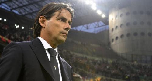 Simone Inzaghi menganggap anak asuhnya pantas menang di kandang AC Milan (Foto: Twitter/Lazio)
