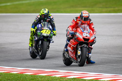 Valentino Rossi tidak lagi bisa mengejar lawan-lawannya