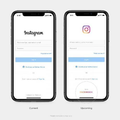Logo Baru Facebook Tampil di WhatsApp dan Instagram