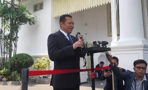 Bambang Soesatyo. (Okezone.com/Fahreza Rizky))