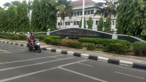 Gedung DPRD Kota Bekasi. (Foto : Okezone.com/Wijayakusuma)