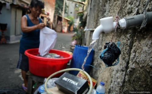 Ilustrasi saluran air di DKI Jakarta. (Foto: Dok Okezone)