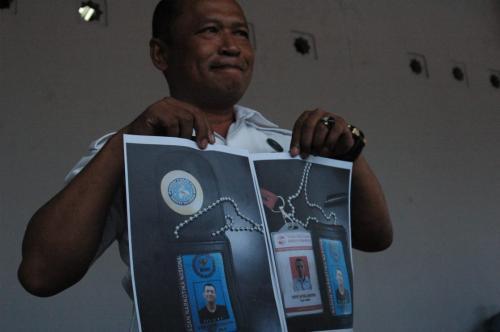 BNN Palsu di Bogor (Foto: Putra)