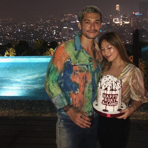Miller Khan mengaku, belum ingin melanjutkan hubungannya dengan sang kekasih ke jenjang pernikahan. (Foto: Instagram/@nathstephens)