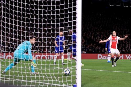 Laga Chelsea vs Ajax Amsterdam
