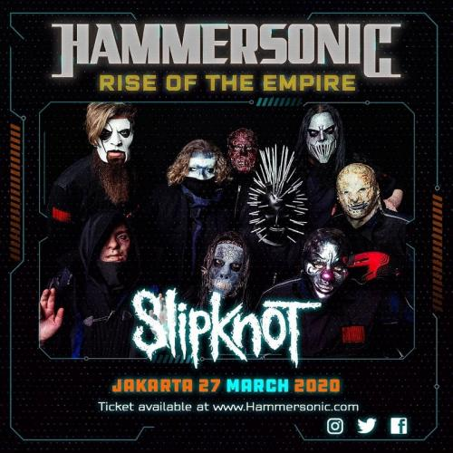 Slipknot di line up Hammersonic