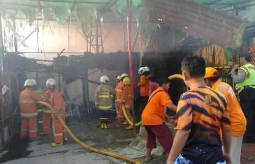 Kebakaran di Jalan KS Tubun