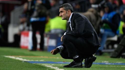 Valverde saat masih melatih Barcelona