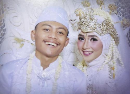 Erika dan Pras nikahan
