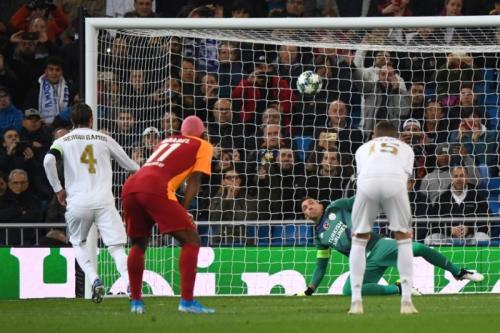 Real Madrid vs Galatasaray (Foto: UEFA)