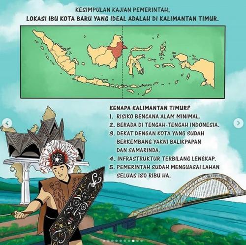 Komik Jokowi Ibu Kota