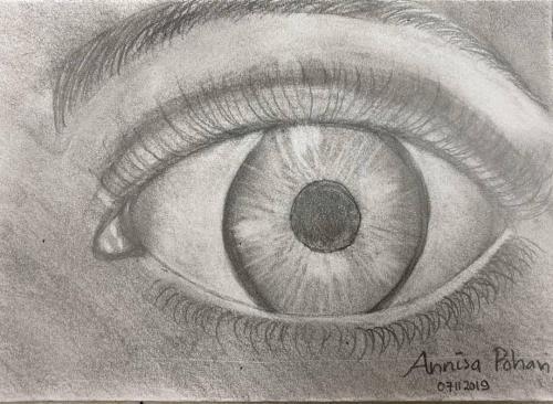 Sketsa mata