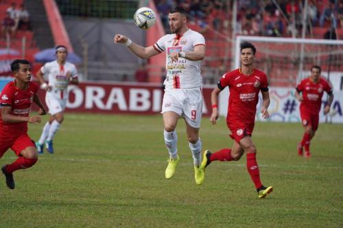 Marko Simic vs Semen Padang (Foto: Media Persija)