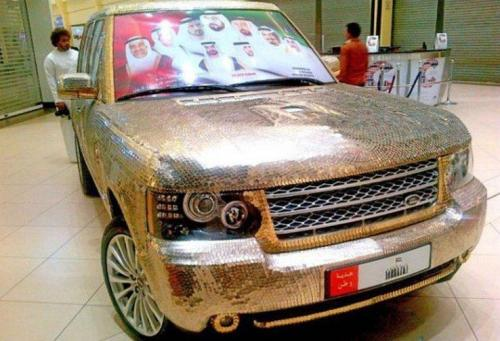 Range Rover Emas