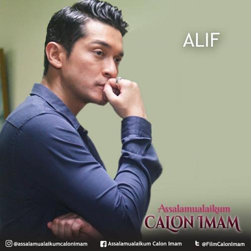 Alif, karakter yang diperankan Miller dalam serial Assalamualaikum Calon Imam ini dikenal pintar mengaji.
