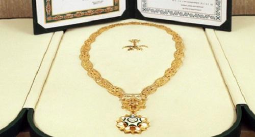 Kalung dari Raja Salman