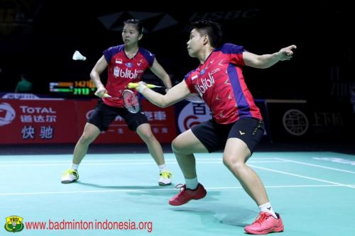 Greysia/Apriyani langusung lolos ke perempatfinal SEA Games 2019