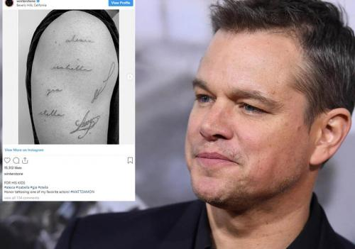 Tato Matt Damon