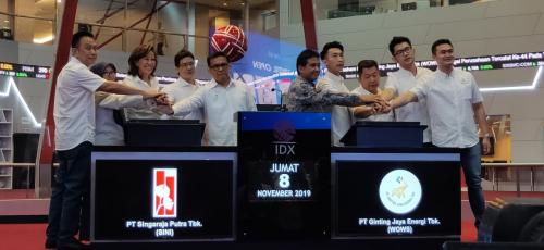 IPO Ginting Jaya Energi