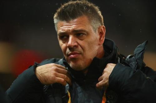 Savo Milosevic tidak kecewa pasukannya kalah telak di Old Trafford (Foto: UEFA)