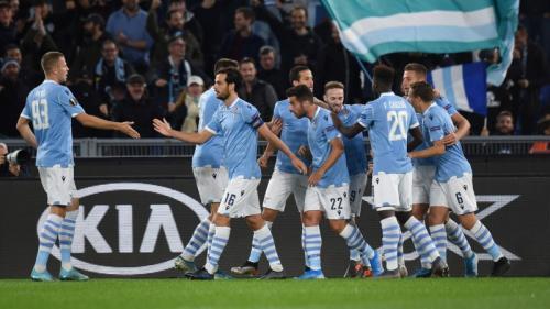 Suasana laga Lazio vs Celtic