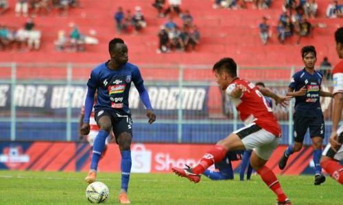 Arema FC vs Madura United (Foto: Twitter Arema)