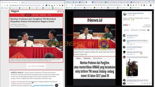 Cek Fakta Prabowo dan Panglima
