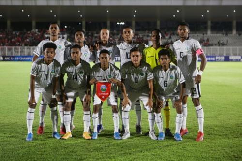 Timnas Timor Leste U-19 (Foto: PSSI)