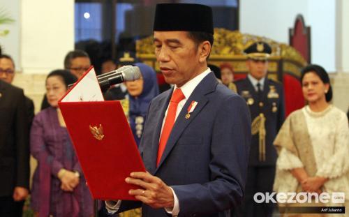 Presiden Jokowi. (Foto: Dok Okezone/Arif Julianto)