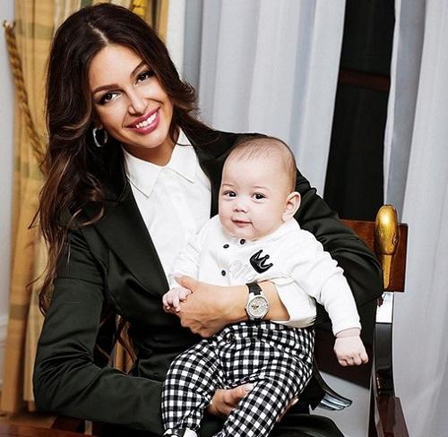 Oksana dan bayinya