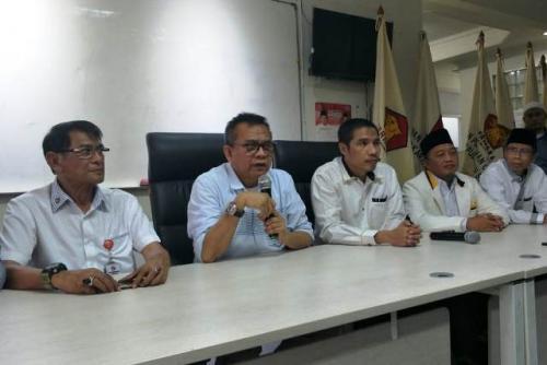 Pertemuan PKS dan Gerindra membahas cawagub DKI Jakarta. (Foto: Dok Okezone)