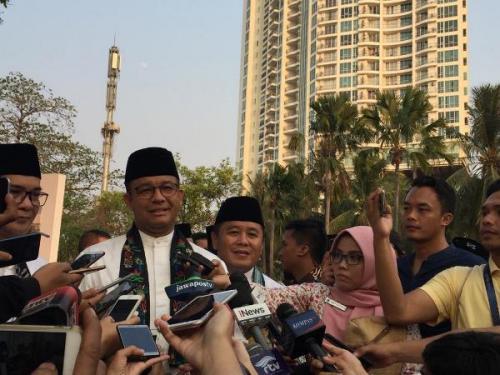 Gubernur DKI Jakarta, Anies Baswedan. (Foto : Okezone.com/Fadel Prayoga)