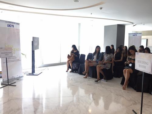 Hari pertama audisi miss Indonesia tahap dua