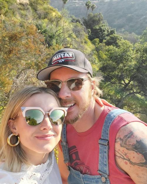 Sebelum menikahi Kristen Bell, Dax Shepard mengaku memacari perempuan lain. (Foto: Instagram/@kristenanniebell)