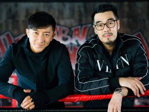 Hangeng dan sutradara Roy Chow