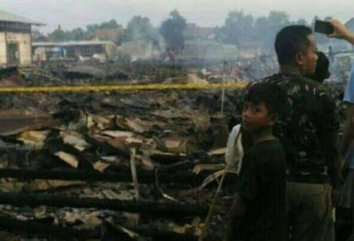 Pasar Tulungagung Terbakar