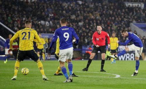 Leicester City menundukkan Arsenal 2-0 pekan lalu (Foto: Premier League)