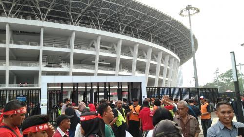 Suporter Timnas Indonesia U-19