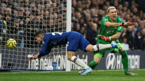 Christian Pulisic mencetak satu gol melawan Crystal Palace (Foto: Premier League)