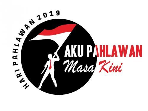 Logo Hari Pahlawan 2019. (Foto: Kemsos.go.id)