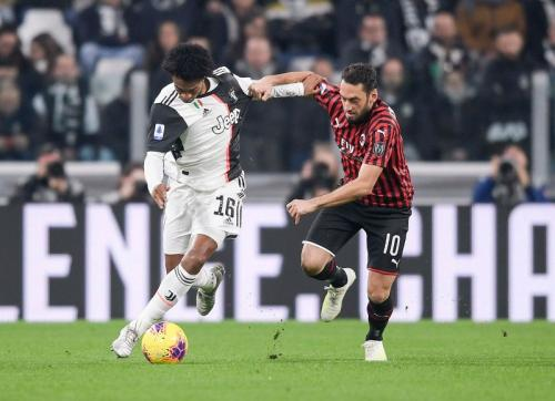 Juventus sukses merengkuh poin penuh dari AC Milan (Foto: Twitter/Juventus)