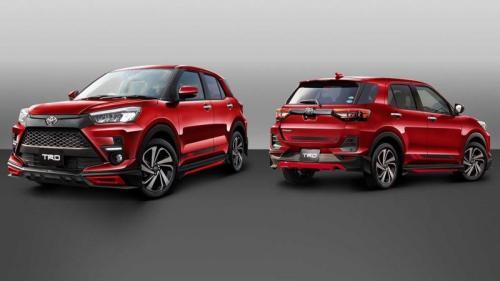 Toyota Raize modifikasi