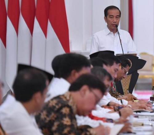 Presiden Jokowi. (Foto: Twitter @KSPgoid)