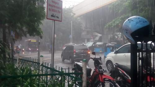 Hujan. (Foto: Dok Okezone/Abu Sahma Pane)