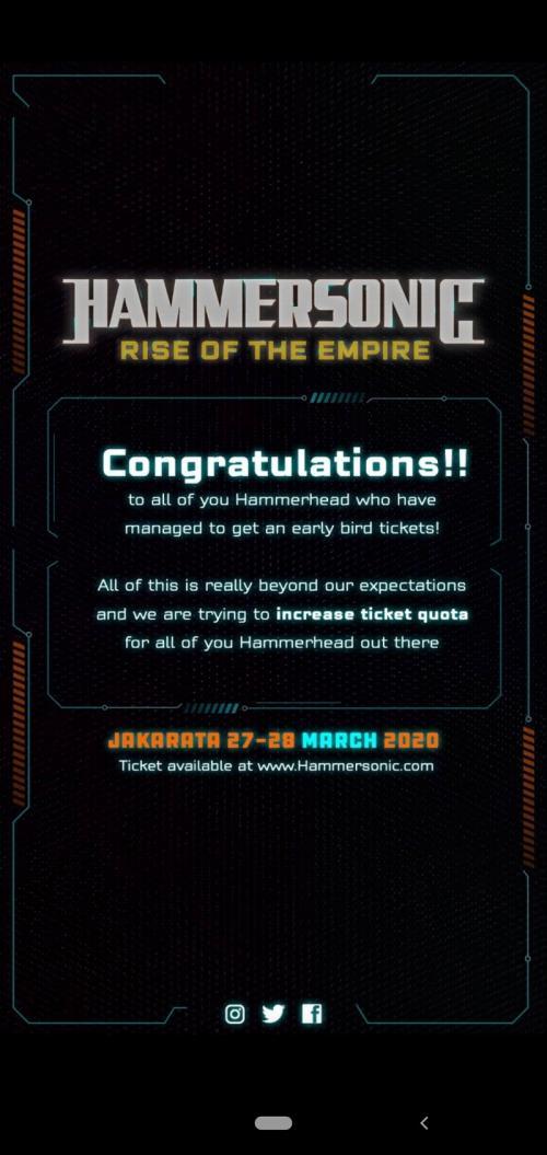 Tiket Hammersonic