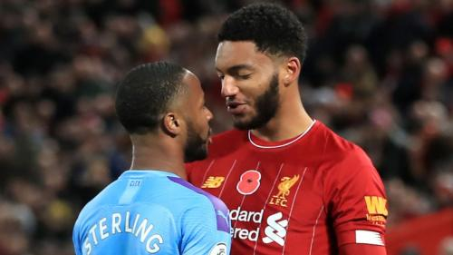 Raheem Sterling vs Joe Gomez