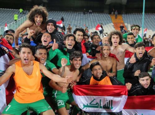 Timnas Iran U-23 merayakan kelolosan ke Piala Asia 2020 (Foto: AFC)