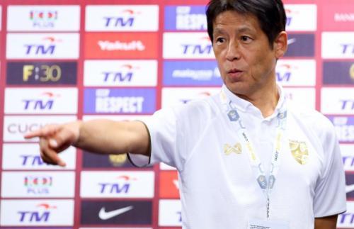 Akira Nishino ingin anak buahnya fokus pada tugas (Foto: Twitter/Changsuek)