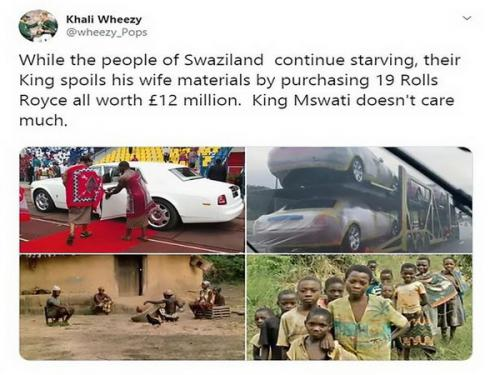 Rakyat Miskin Raja Afrika