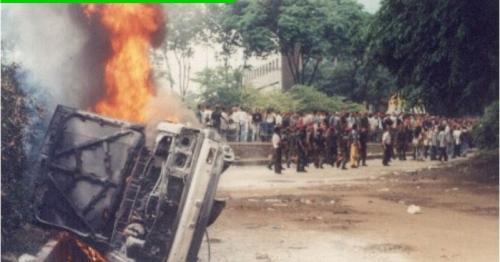 Tragedi Semanggi I (Foto: Ist)